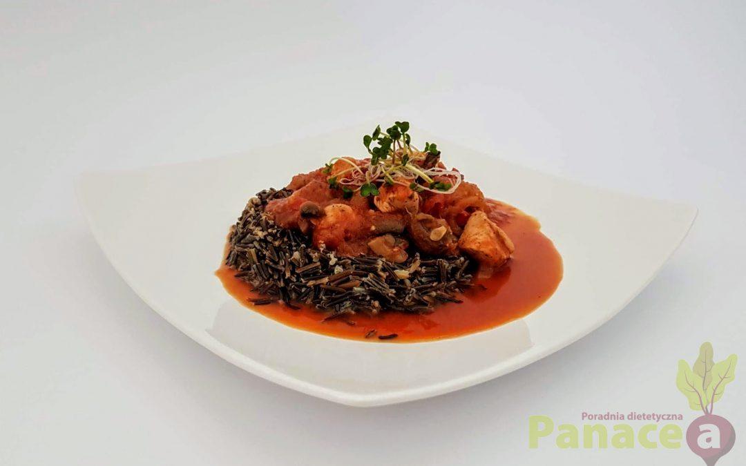 Leczo z czarnym ryżem