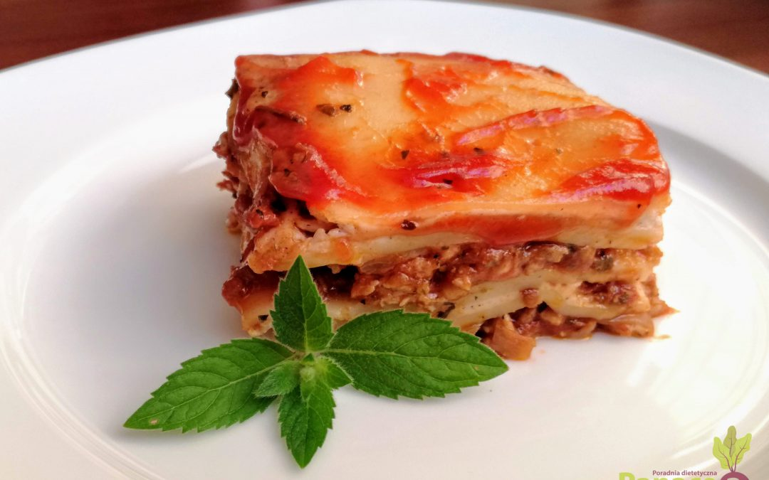 Lasagne z suszonymi pomidorami